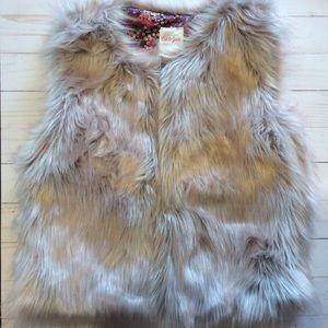 Cat & Jack Faux Fur Vest